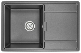 Врезная кухонная мойка ЕМАР 7804 78х50см искусственный гранит