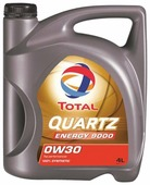 Моторное масло TOTAL Quartz 9000 Energy 0W30 4 л