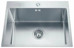 Врезная кухонная мойка ЕМАР EMB-115 58х43см нержавеющая сталь
