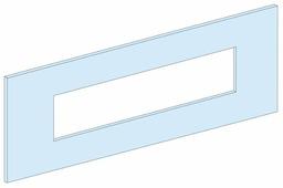 Передняя панель распределительного шкафа Schneider Electric 03303