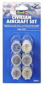 Краска для сборных моделей Revell Civilian Aircraft set 39072
