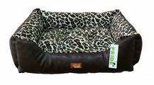Лежак для кошек, для собак PRIDE прямоугольный Гепард (10012042) 70х60х23 см