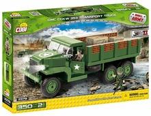 Конструктор Cobi Small Army World War II 2378 Военный грузовик GMC CCKW 353