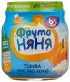 Пюре ФрутоНяня тыква-рис молоко (с 6 месяцев) 100 г, 1 шт.