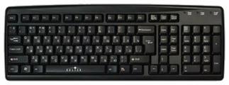 Клавиатура Oklick 110 M Standard Keyboard Вlack USB