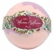 Solline Бомбочка для ванн Цветы Прованса Роза 150 г