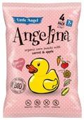 Кукурузные снэки Little Angel Angelina Морковь и яблоко 60 г