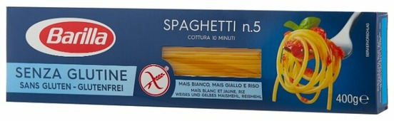 Barilla Макароны Senza Glutine Spaghetti n.5 без глютена, 400 г