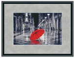 Золотое Руно Набор для вышивания Красный зонтик 23,8 х 35,2 см (ГМ-024)