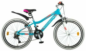 Подростковый горный (MTB) велосипед Novatrack Novara 24 18 (2018)