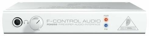 Внешняя звуковая карта BEHRINGER F-CONTROL FCA 202
