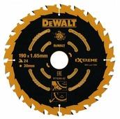 Пильн.диск EXTREME п/дер. 190/30 1.65 24 WZ +18° DeWALT (DT10304-QZ)