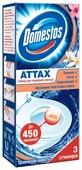 Domestos стикер для унитаза ATTAX Тропическая свежесть