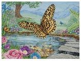 Maia Набор для вышивания 3D бабочки 45 х 60 см (5678000-01232)