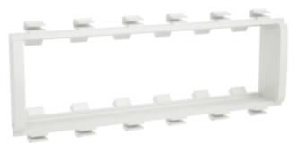 Лицевая накладка/ суппорт с рамкой для монтажа эуи в настенном кабель-канале DKC F0003A