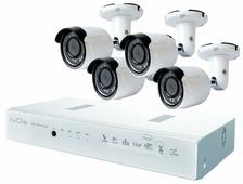 Комплект видеонаблюдения IVUE D5008-РРС-B4 4 камеры