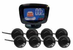 Комбинированные парктроники, монитор AVS PS-528