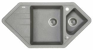 Врезная кухонная мойка IDDIS Vane G V27G965i87 96х50см искусственный гранит