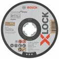 Диск отрезной 125x1x22.23 BOSCH Standard for Inox X-lock 2608619262