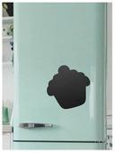 Доска на холодильник магнитно-меловая Doski4you Пироженка (29х29 см)