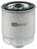 Топливный фильтр Mann-Filter WK818/1