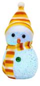 Фигурка NEON-NIGHT Снеговик 17 см