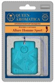Queen Aromatica Ароматизатор для автомобиля Brendan с нотками Allure Homme Sport