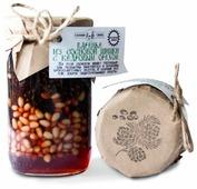 Варенье из сосновых шишек с кедровым орехом Таёжный Тайник, банка 420 г