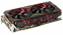 Видеокарта PowerColor Radeon RX 580 1380MHz PCI-E 3.0 8192MB 8000MHz 256 bit DVI HDMI HDCP Red Devil