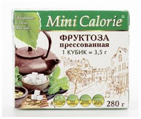 Mini Calorie Фруктоза в кубиках кубики