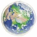 Мяч пляжный Bestway Земля с подсветкой 31045