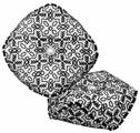 ZENGANA Набор для вышивания бисером и нитками Черный лес 8.5 х 8.5 см (М-090)