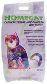Впитывающий наполнитель Homecat Силикагелевый Лаванда 12,5 л
