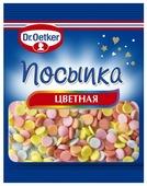 Dr. Oetker посыпка цветная конфетти 10 г