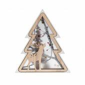 Фигурка NEON-NIGHT Елочка деревянная 18 см