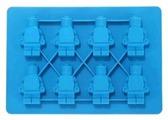 Форма для льда FidgetGo Маленькие человечки, 8 ячеек