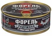 Ecofood Форель радужная в томатном соусе, 240 г