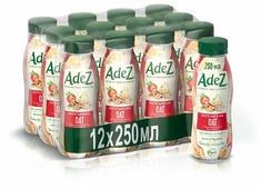 Овсяный напиток Adez Великолепный овес с клубникой и бананом 250 мл, 12 шт.