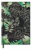 Ежедневник Феникс+ Листья недатированный, искусственная кожа, А5, 120 листов