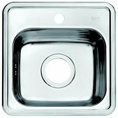 Врезная кухонная мойка IDDIS Strit STR38S0i77 38х38см нержавеющая сталь