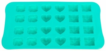 Форма для льда Elan gallery Микс, 24 ячейки