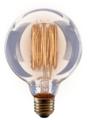 Лампа накаливания Voltega 5923, E27, G95, 60Вт