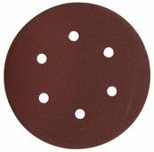 Шлифовальный круг на липучке ЗУБР 35566-150-120 150 мм 5 шт