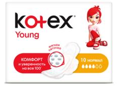 Kotex прокладки Young Normal