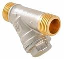 Фильтр механической очистки VALTEC VT.190 муфтовый (НР/НР), латунь, с манометром