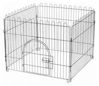 Triol K1 Клетка-вольер для животных, 4 секции, эмаль, 840*690мм 84*69