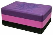 Блок для йоги Original FitTools FT-3DBLOCK