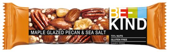 Ореховый батончик Be-Kind Maple Glazed Pecan & Sea Salt, 40 г