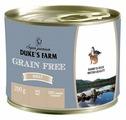 Корм для собак DUKE'S FARM кролик, утка с клюквой, со шпинатом 200г