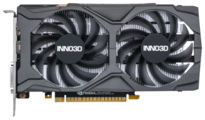 Видеокарта INNO3D GeForce GTX 1650 SUPER 1755MHz PCI-E 3.0 4096MB 12000MHz 128 bit DVI DisplayPort HDMI HDCP TWIN X2 OC